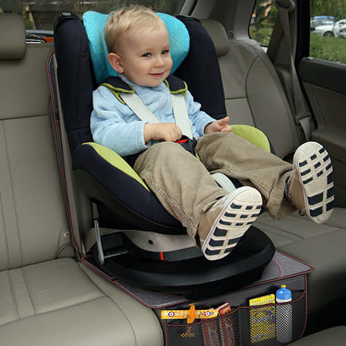 Use These Together To Keep Your Seats Safe From The Wear And Tear Of Kids Car Carriers Muddy Paws Sticky Fingers Kicking Toddlers