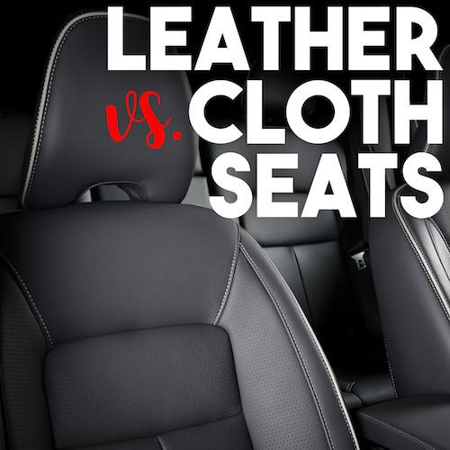 Leather Vs Cloth Seats Fortem