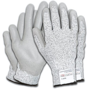 Cut-Resistant Gloves with Polyurethane Coating